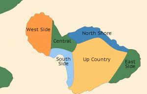 Maui District Map