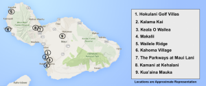 New Construction Maui Map 2016