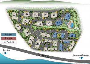Wailele Ridge Site Plan