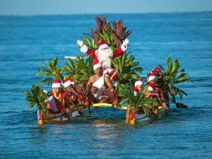 santa-canoe