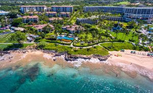 Wailea Beach Villas Aerial 1