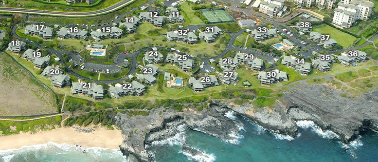 Kapalua Bay Villas Site Map
