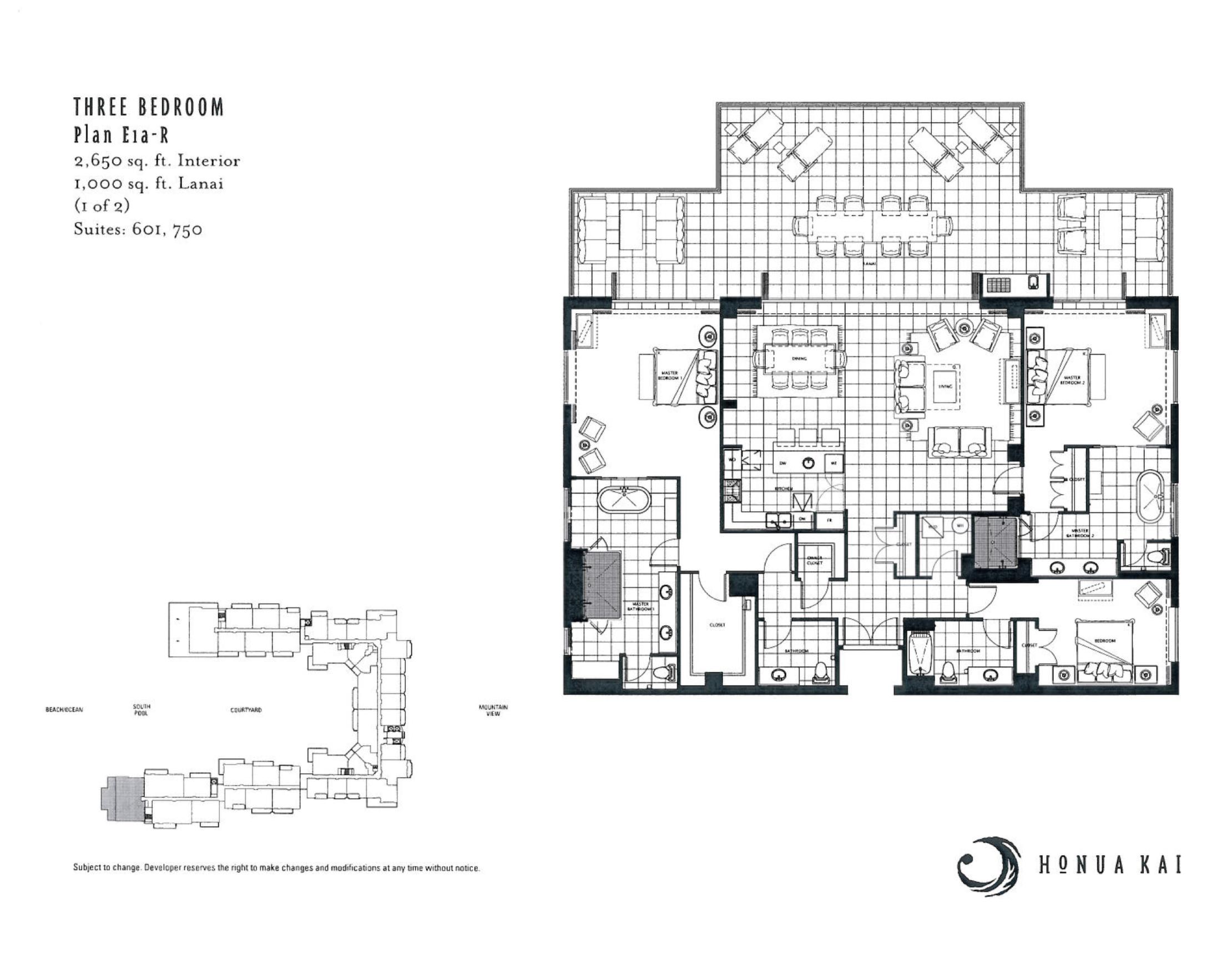 Honua Kai 3 BR E1a-R