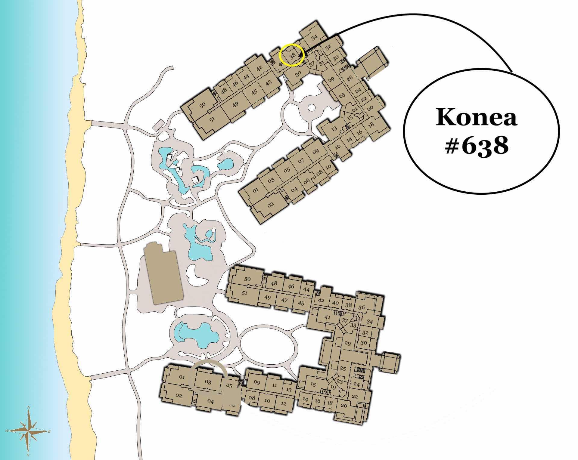 Konea 638 Location